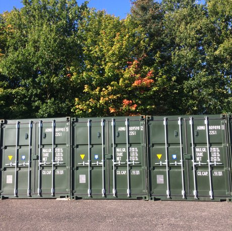 self-storage containers glenrothes